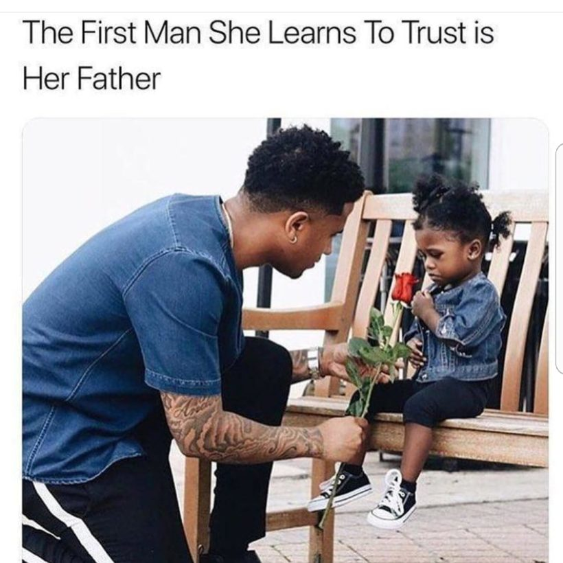 The First Man She Learns to Trust